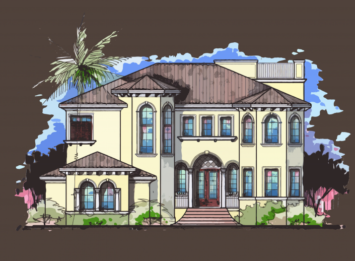 Elevations Schmidt Luxury Homes